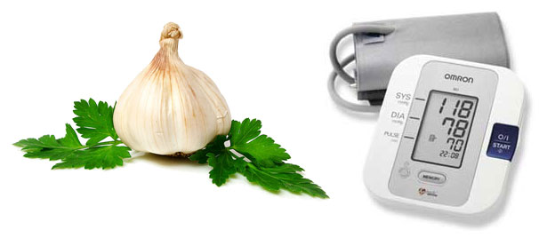 Valkosipuli alentaa kohonnutta verenpainetta